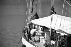 Classic sailing boat Royalty Free Stock Images