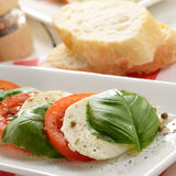 Salad caprese Royalty Free Stock Image