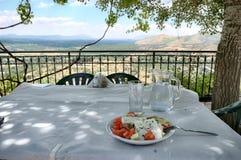 Classic Salad Greek stock images