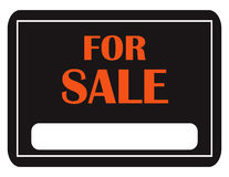 Classic For Sale Sign Royalty Free Stock Photo