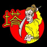 Classic samurai Royalty Free Stock Photos