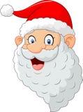 Classic santa cartoon Royalty Free Stock Photos
