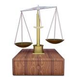 Classic scales stock illustration