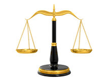 Classic scales of justice Stock Photography