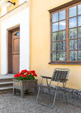 Classic Scandinavian architecture Royalty Free Stock Image