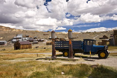 Classic Scene in Bodie Ghost Town Royalty Free Stock Photo