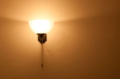 Classic sconce Stock Images
