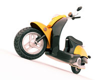 Classic scooter Stock Photos