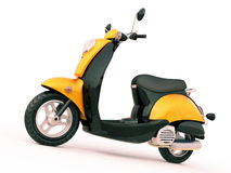 Classic scooter Royalty Free Stock Image