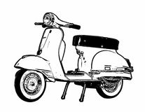 Free Classic Scooter Stock Photos - 75696133
