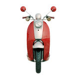 Classic scooter isolated Royalty Free Stock Photography