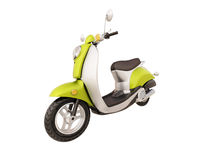 Classic scooter isolated Royalty Free Stock Images