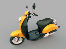 Classic scooter Royalty Free Stock Photo