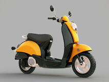 Classic scooter Royalty Free Stock Images