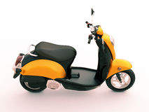 Classic scooter Stock Photography