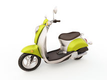 Classic scooter Stock Photo