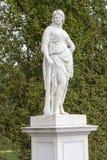 Sculpture in Schönbrunn park Royalty Free Stock Image