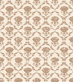 Classic seamless floral ornate background. Stock Images