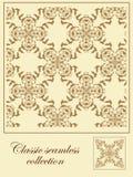 Classic seamless pattern. Decorative seamless stylish classic background Royalty Free Stock Photography