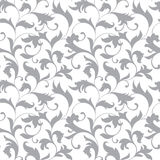 Classic seamless pattern. Tracery of twisted stalks with decorat Royalty Free Stock Images