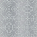 Classic seamless silver bacground pattern Stock Photos