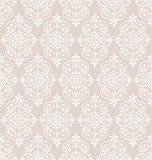 Classic seamless wallpaper background pattern Stock Images