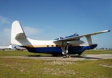 Classic seaplane Stock Images