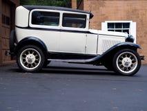 Classic Sedan Profile Royalty Free Stock Photography