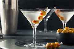 Classic Shaken Dry Vodka Martini Royalty Free Stock Image