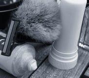 Classic shaving stock photography