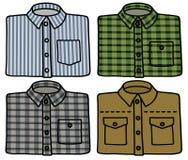 Classic shirts Stock Photos