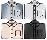 Classic shirts Stock Images