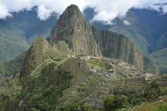 The Classic shot of Machu Picchu. Stock Photo