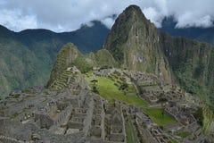 The Classic shot of Machu Picchu. Royalty Free Stock Photo