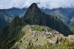 The Classic shot of Machu Picchu. Stock Photography
