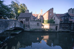 Classic sights of Bruges (Belgium) royalty free stock photography