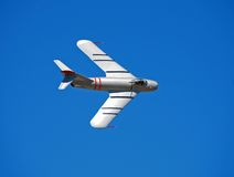Free Classic Silver Fighter Jet Royalty Free Stock Image - 2683096