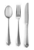 Classic silverware Royalty Free Stock Photos