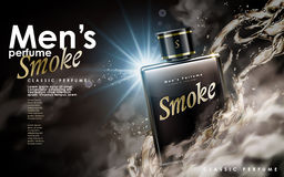 Classic smoke perfume Stock Photography