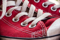 Classic Sneakers Stock Photography