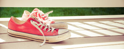 Classic Sneakers Royalty Free Stock Images
