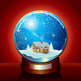 Classic Snow Globe stock photos