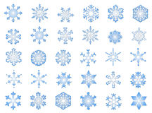 Classic Snowflakes #2 Royalty Free Stock Image
