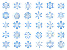 Classic Snowflakes #3 royalty free stock photography