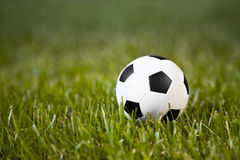 Classic soccer ball Stock Photography
