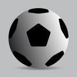 Classic soccer ball Stock Image
