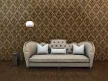 Classic sofa Royalty Free Stock Image