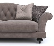 Classic sofa. On white background Stock Images
