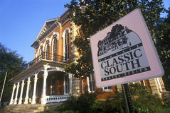 Classic Southern home on back roads of GA Royalty Free Stock Photography