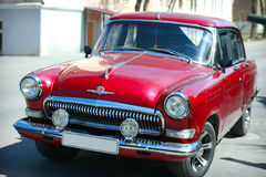 Classic Soviet sedan Gaz Volga M21 Royalty Free Stock Images